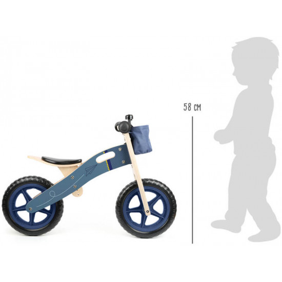 Balance Bike Blue Paper Airplane