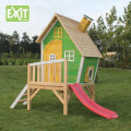 Playhouses with slides