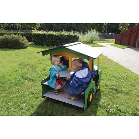 Igraonica kućica Traktor zeleni