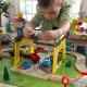 Stol za igranje Kidkraft - drvena željeznica Moj grad