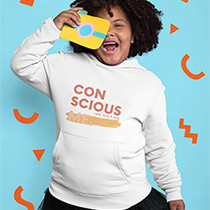 Conscious.me Youth Heavy Blend Hooded Sweatshirt