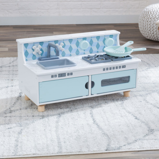 Play & Put Away Wooden Kitchen