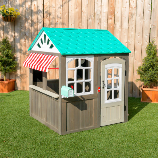 Coastal Cottage Outdoor Playhouse
