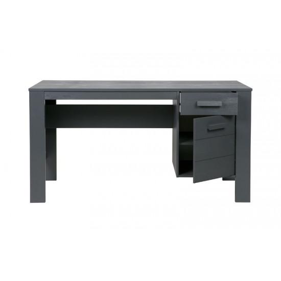 Dennis desk steelgrey