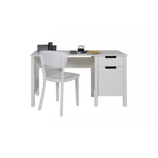 Radni stol Jade bijeli nebrušeni